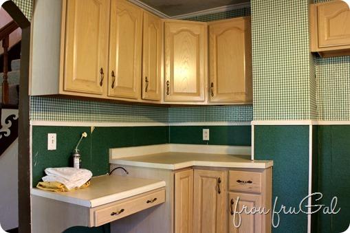 Kitchen Before - Fridge Wall