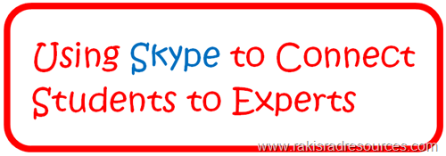 Top 10 Blog Posts from Raki's Rad Resources of 2014 - Using Skype to Connect Students to Experts