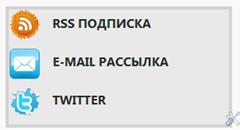 рассылка по rss почте twitter