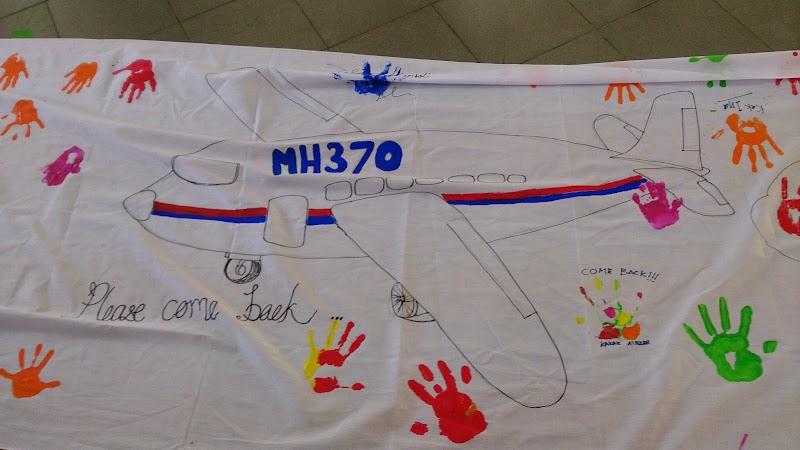 PDP Pra Sekolah : Pray for MH370