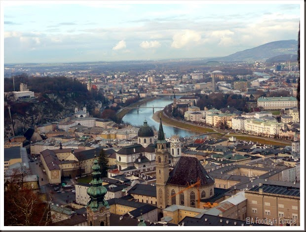 Salzburg from Castle