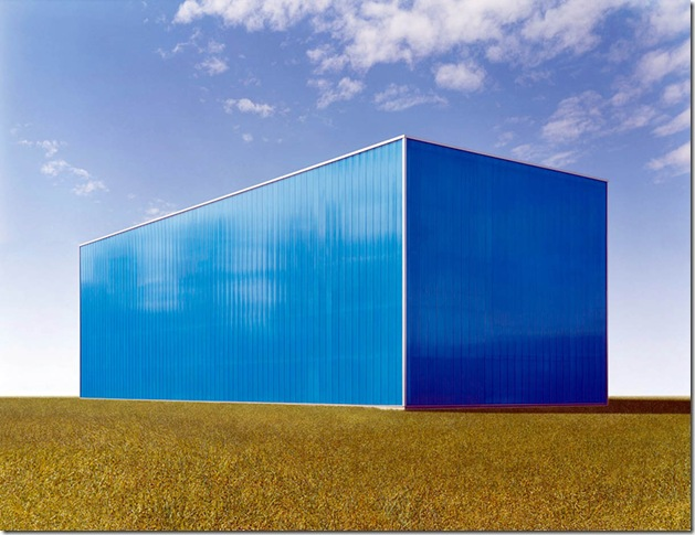 josef schulz_Halle blau #4, 2007