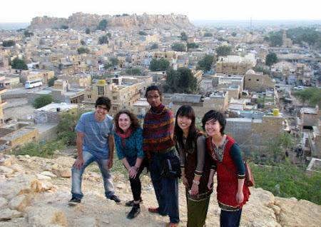 Cel mai frumos oras India: prin Jaisalmer a doua zi...