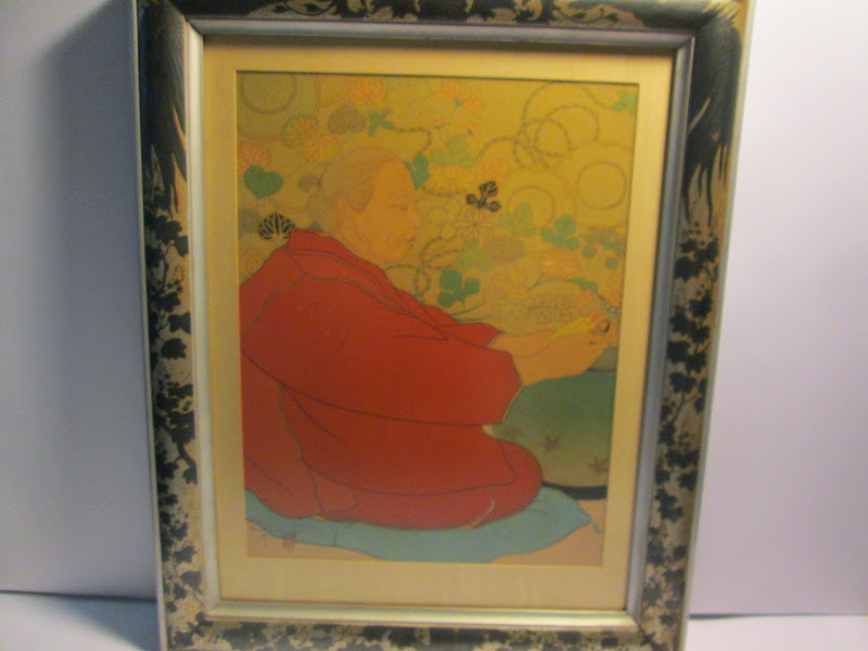 Signed Paul Jacoulet Woodblock #1