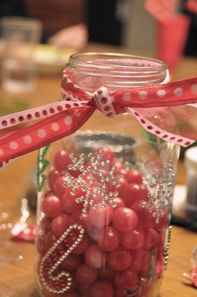 mason candy jar