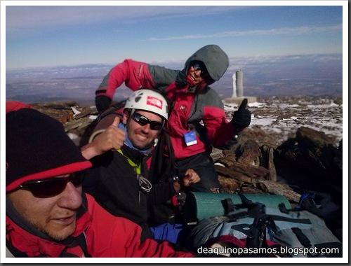 Picon de Jerez 3090m, Puntal de Juntillas y Cerro Pelao 3181m (Sierra Nevada) (Javi) 0205