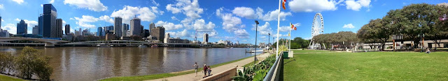 Brisbane City River View