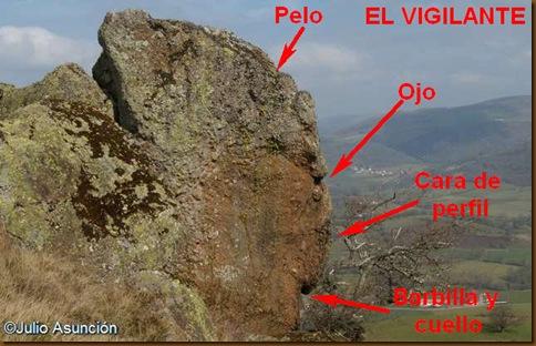 El Vigilante - ruta del dolmen de Buluntza