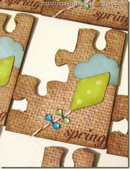 Spring puzzle piece