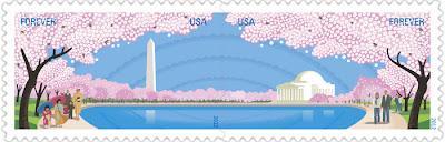 Cherry Blossom Centennial stamps