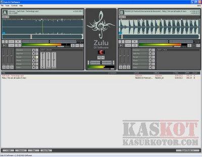 Zulu DJ Mix, convert, edit dan rekam lagu
