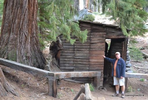 Looks like a cabin . . .