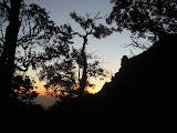 Silhouette of Anak Ranakah, Poco Ranakah (Dan Quinn, July 2013)