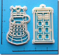 Dr. Who Cookie Cutters