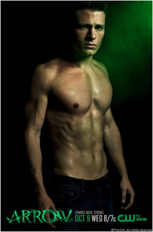 Colton Haynes from ARROW. CLICK on image to enlarge.