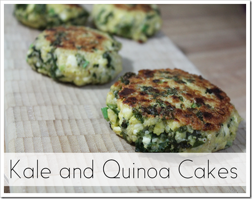 gluten free kale and quinoa patties