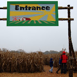 Alpha Acres Corn Maize Yadkinville, NC  10-31-09
