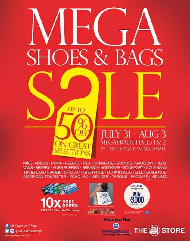 SM Shoes & Bags Mega Sale