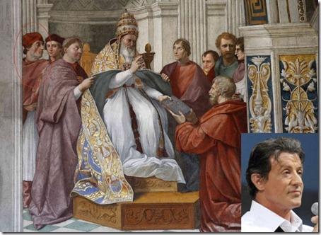 Quadro do Sylvester Stallone de 1511