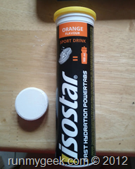 Isostar fast hydration power tabs
