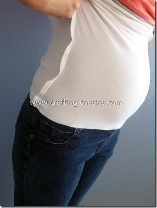 sew your own maternity jeans 1