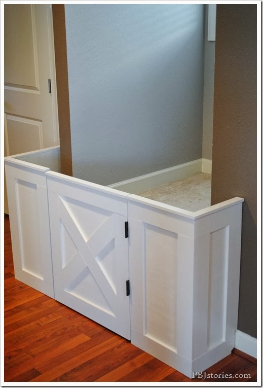 Pbjstories How To Make A Custom Built Baby Gate Diy Project