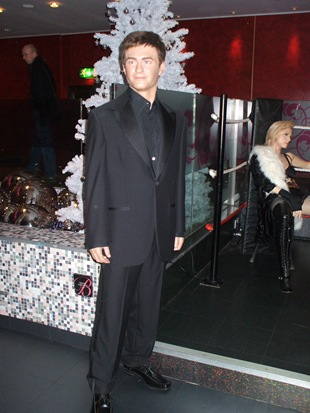 Daniel Radcliffe model at Madame Tussauds