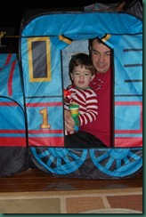 daddy and jake in the tent2