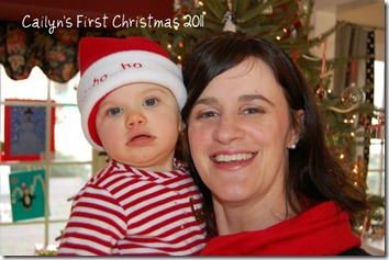 Cailyn's First Christmas 2011