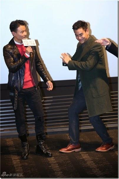 2014.11.19 Eddie Peng during Rise of the Legend - 彭于晏 黃飛鴻之英雄有夢 提前觀影會 03