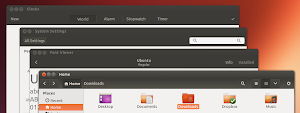 Ambiance - Nautilus in Ubuntu 13.10 Saucy