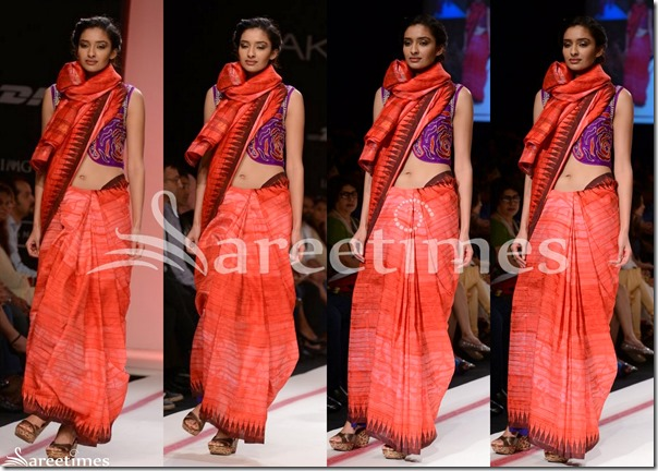 Krishna_Mehta_Red_Saree