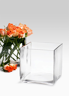 7-Inch Glass Cube. (jamaligarden.com)