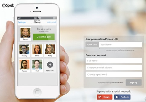 Speek, app para crear conferencias en vivo