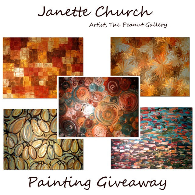 janette church painting giveaway