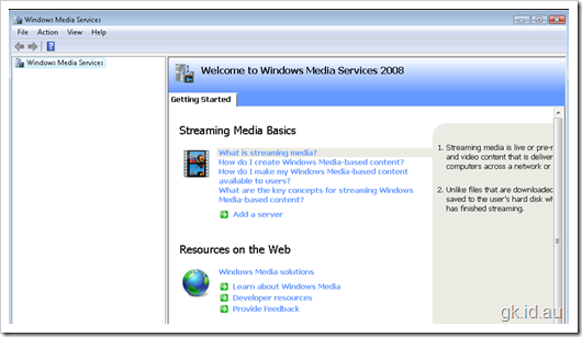 Stream media from your SharePoint Site with Windows 2008 Media Services windows sharepoint 2007 sharepoint