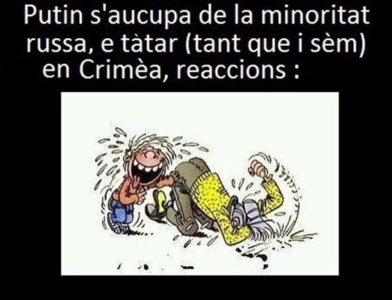 Putin en Crimèa