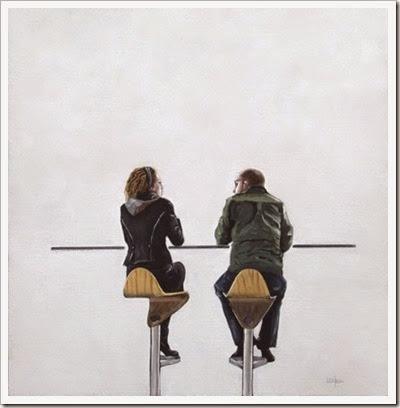 LC Neill - Cafe conversation