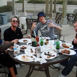 BBQ at skymark mississauga in Toronto, Ontario, Canada