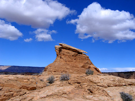 A little sandstone knoll near the Buckhorn Wash overlook.
