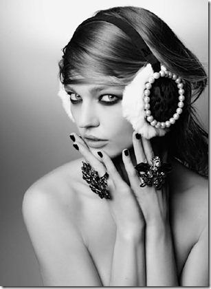 Clemence-Poesy-Sasha-Pivovarova-for-Maison-Michel-Autumn-Winter-2011-06