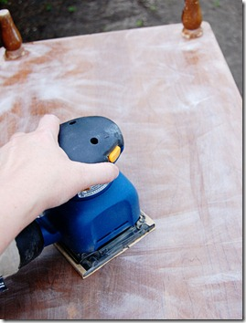Sanding