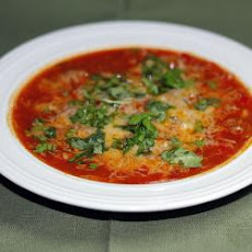 Spicy Chorizo And Cannellini Bean Soup