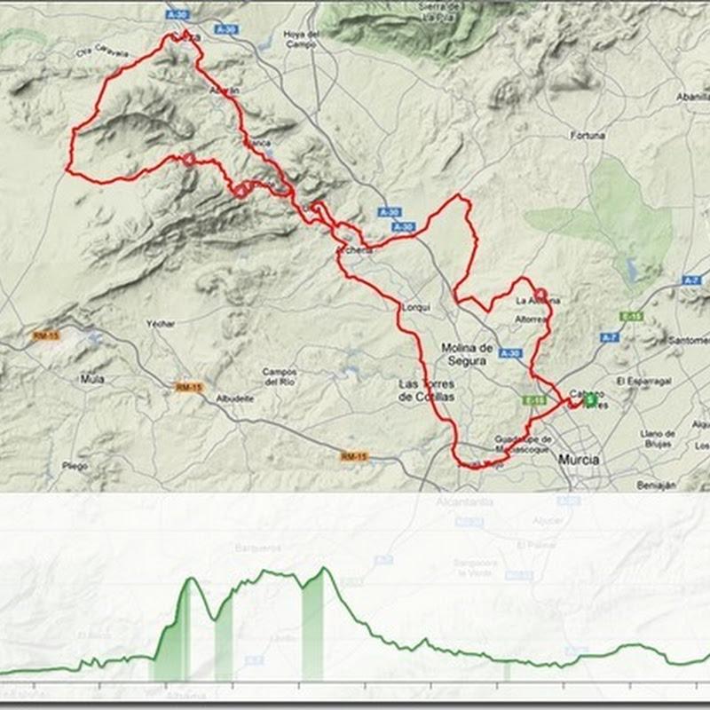 Impresionante ruta por el Valle de Ricote