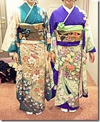 リーガロイヤルホテル広島に振袖を着付に (2)