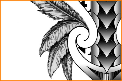 feathers tattoo tribal design arrows jpg another tribal tattoo design ...