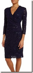 Lauren Ralph Lauren Long Sleeve Sequin Dress