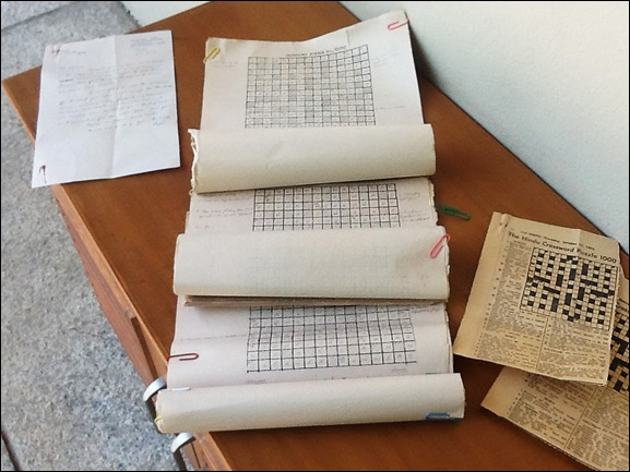 The Hindu Crossword grids by Admiral Katari