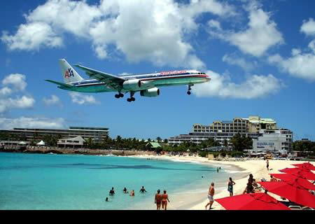 St. Martin has the most dangerous airport in the world