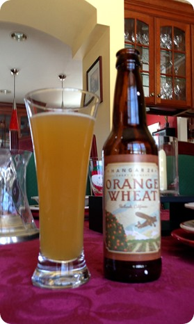 hangar 24 orange wheat beer